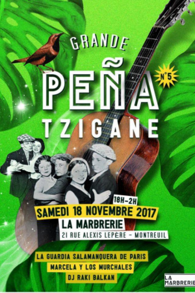Grande Pena Tzigane #5 @ La Marbrerie - MONTREUIL