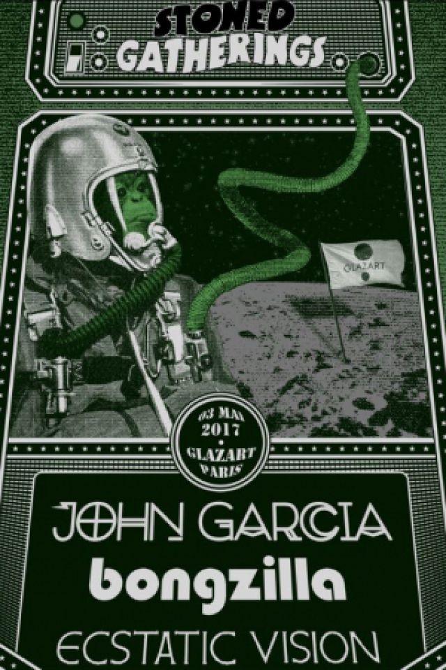 Concert John Garcia + Bongzilla + Ecstatic Vision à PARIS 19 @ Glazart - Billets & Places