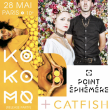 Concert KO KO MO [Release Party] + CATFISH à Paris @ Point Ephémère - Billets & Places