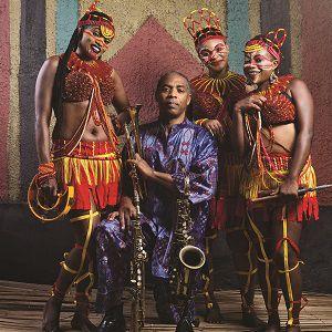 Concert Femi Kuti à Vauréal @ Le Forum - Billets & Places