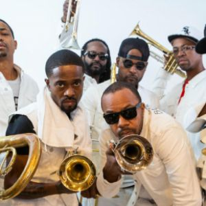 Hypnotic Brass Ensemble + Raashan Ahmad