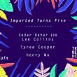 Soirée Imported turns 5 : Sabar Bahar b2b Lee Colins, Tyree Cooper... à Paris @ Le Trabendo - Billets & Places