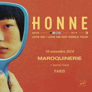 HONNE @ La Maroquinerie - PARIS