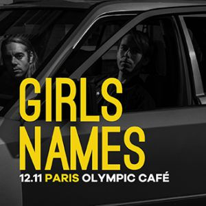 Girls Names  @ Olympic Café - PARIS