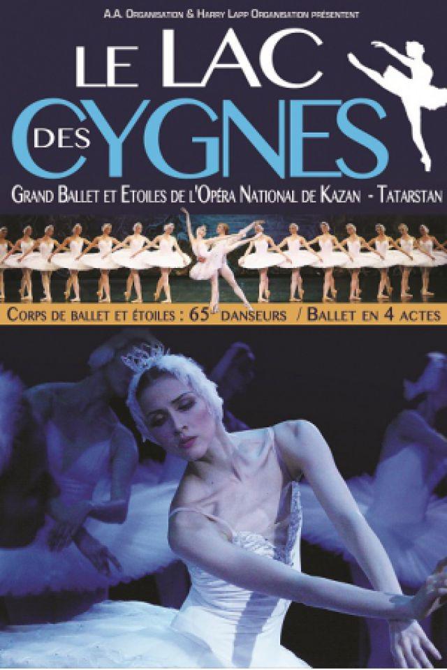 LE LAC DES CYGNES / Ballet & Etoiles de l'Opéra National de Kazan @ RADIANT-BELLEVUE - CALUIRE ET CUIRE