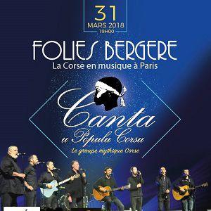 Canta u populu corsu @ Théâtre des Folies Bergère - Paris