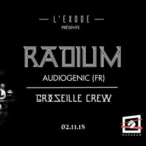 Radium & Groseille Sound System @ MACADAM - NANTES