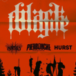 Concert Black Tongue + Piedbouche + Pyrecult + Hurst
