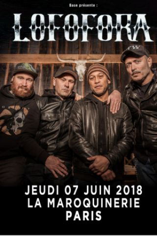 Concert LOFOFORA à PARIS @ La Maroquinerie - Billets & Places