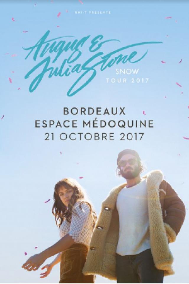 Angus & Julia Stone @ Espace Médoquine - Talence