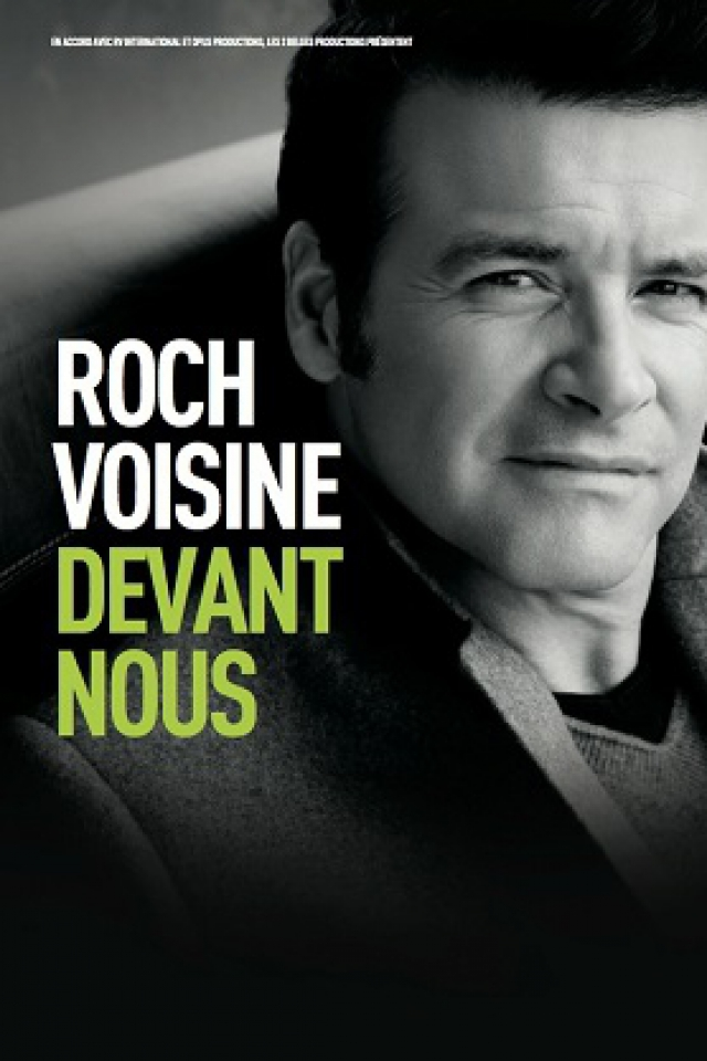 Concert ROCH VOISINE à Ludres @ Espace Chaudeau - Billets & Places