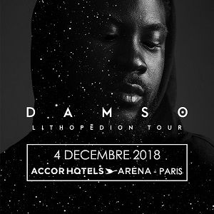 Concert DAMSO à PARIS @ ACCORHOTELS ARENA - Billets & Places