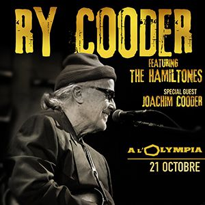 RY COODER featuring The Hamiltones @ L'Olympia - Paris