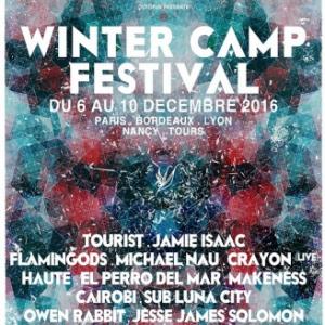 Festival WINTER CAMP x THE LINE OF BEST FIT :: Crayon (live) + Makeness à Paris @ Point Ephémère - Billets & Places
