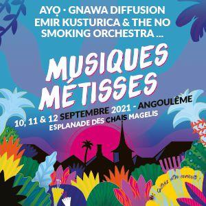 Musiques Metisses - Samedi 11 Septembre- Billet 1 Jour
