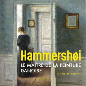 Visite Hammershøi Maître De La Peinture Danoise, Par M. Lhéritier