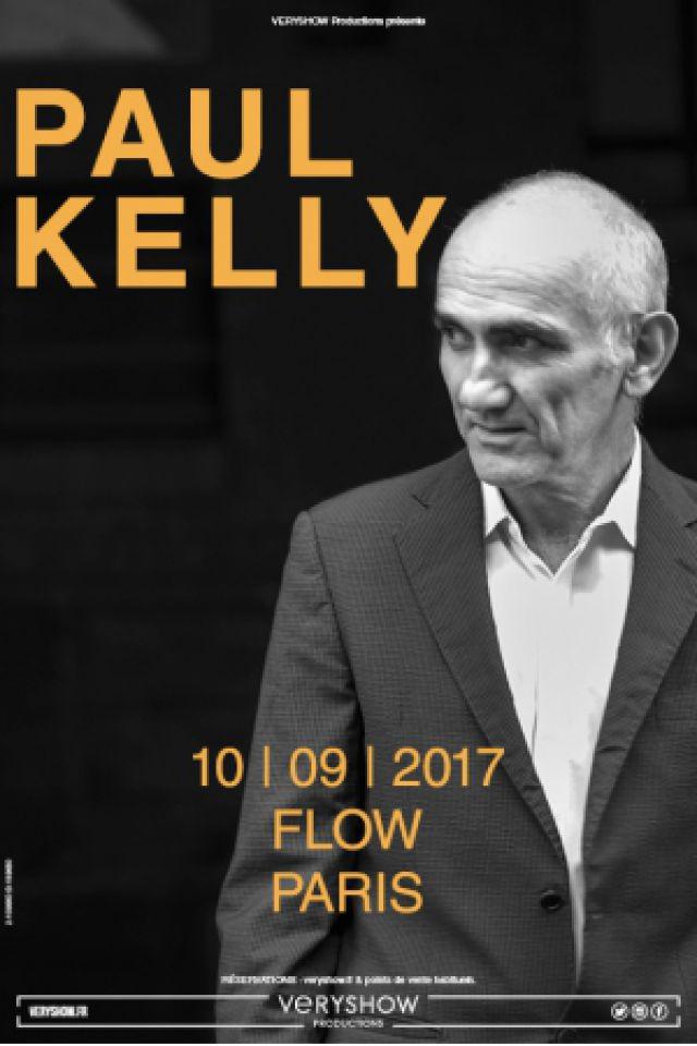 PAUL KELLY @ FLOW - PARIS
