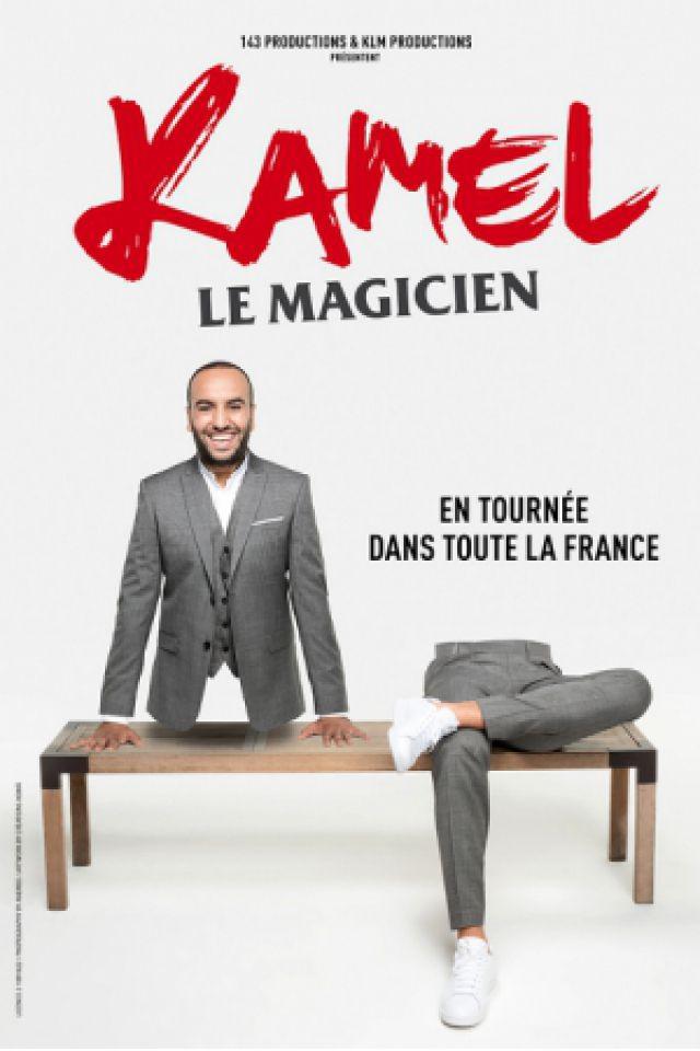 KAMEL LE MAGICIEN @ Le Scarabée - Riorges