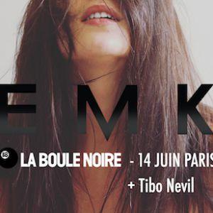 EMK + 1ère partie : Tibo Nevil @ La Boule Noire - PARIS