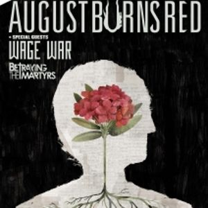 AUGUST BURNS RED + WAGE WAR + BETRAYING THE MARTYRS @ Ninkasi Gerland / Kao - LYON