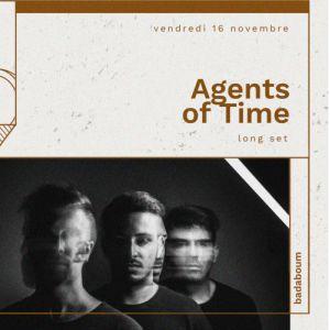 Agents of Time (4H DJ set) @ Badaboum - PARIS
