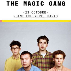 The magic gang @ Point Ephémère - Paris