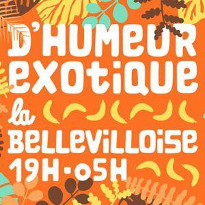 D'HUMEUR EXOTIQUE w/ KEBO MFUMU, JULIEN LEBRUN, ARTHUR CHAPS @ La Bellevilloise - Paris