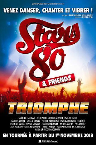 Concert STARS 80 - TRIOMPHE à ST ETIENNE @ Zénith de Saint Etienne - Billets & Places