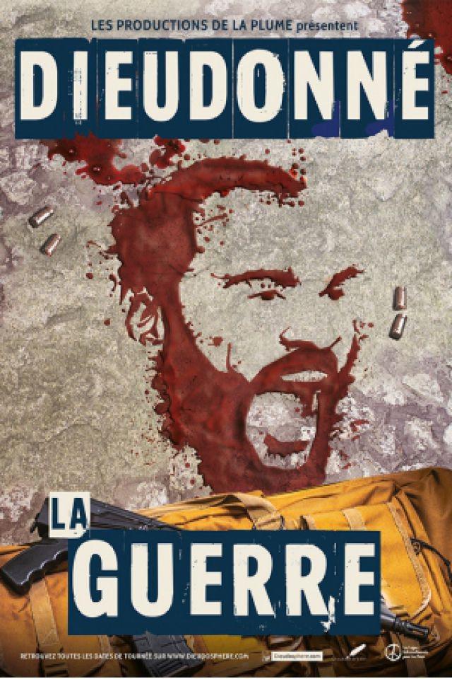 """DIEUDONNE - """"DANS LA GUERRE"""" @ Zénith Oméga - Toulon"""