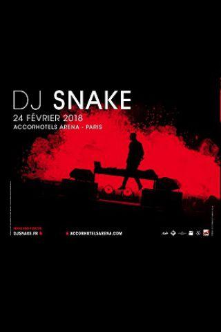 Concert DJ SNAKE à PARIS @ ACCORHOTELS ARENA - Billets & Places