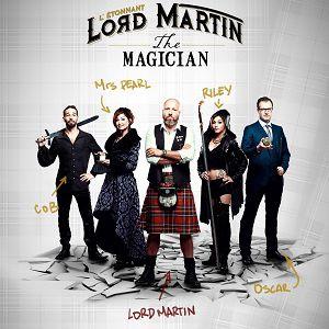 L'étonnant Lord Martin, The Magician