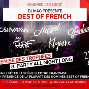 Soirée MOSIMANN, HUGEL, OFENBACH, POPOF, KLYMVX... DJ MAG-Best of French à PARIS @ Zig Zag - Billets & Places