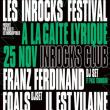 Soirée INROCKS CLUB à Paris @ La Gaîté Lyrique - Billets & Places