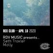 Soirée RDV MUSIC PRESENTS SETH TROXLER