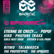 Soirée EPIDEMIC NIGHT #15 - EPIDEMIC EXPERIENCE FESTIVAL