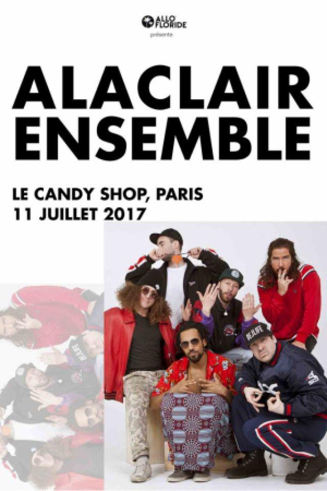 Alaclair Ensemble @ Candy Shop Paris - PARIS