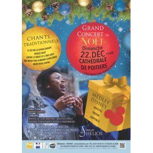 Grand Concert De Noël À Poitiers