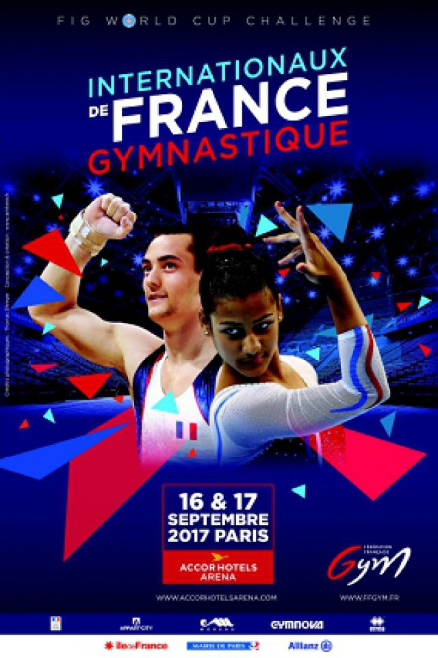 Les Internationaux de France Gymnastique 2017 @ ACCORHOTELS ARENA - PARIS 12