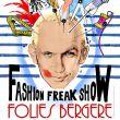 Affiche Jean paul gaultier fashion freak show
