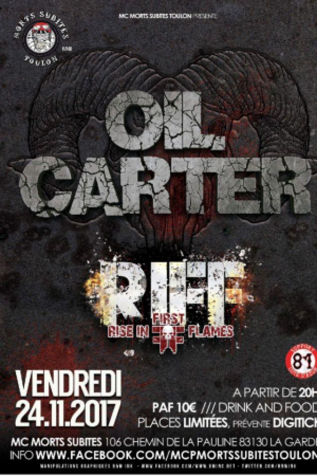 OIL CARTER - RIFF @ Morts Subites MC - LA GARDE