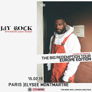 JAY ROCK @ ELYSEE MONTMARTRE PARIS - PARIS