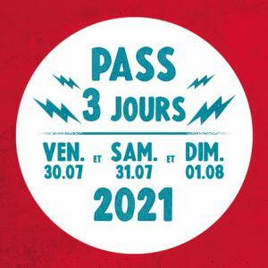 Festival Musicalarue 2021 - Pass 3 Jours