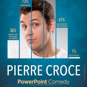 "Billets PIERRE CROCE ""PowerPoint Comedy"" - LE K - KABARET CHAMPAGNE MUSIC HALL"