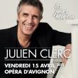 """Concert JULIEN CLERC """"LES JOURS HEUREUX"""" à AVIGNON @ Opéra Grand Avignon - Billets & Places"""
