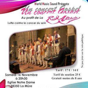 Concert Gospel - Au Profit Du Cancer Du Sein