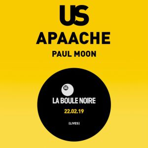 Animal Records Sessions : Us, Apaache & Paul Moon
