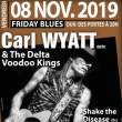 Concert CARL WYATT & The Delta Voodoo Kings à Terville @ LE112 - Billets & Places
