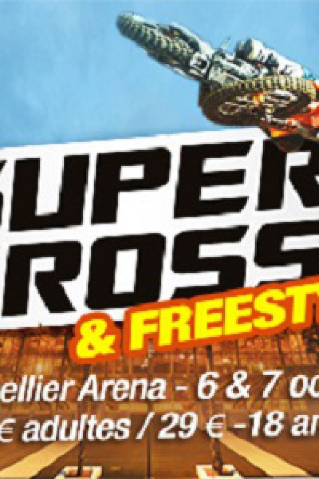 SUPERCROSS CHAMPIONNAT DE FRANCE SX TOUR 2017 @ ARENA - Montpellier
