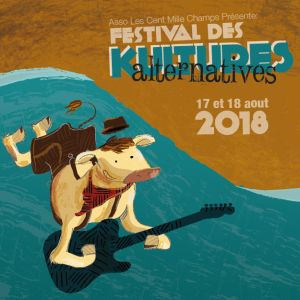 FESTIVAL DES KULTURES ALTERNATIVES - PASS 2 JOURS @ Hippodrome de CHALAIS - CHALAIS