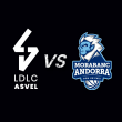 Match LDLC ASVEL / MORABANC ANDORRA - GAME 1 à Villeurbanne @ Astroballe - Billets & Places
